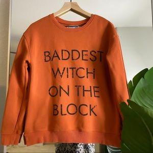 Kittenish Sweatshirt Baddest Witch On The Block